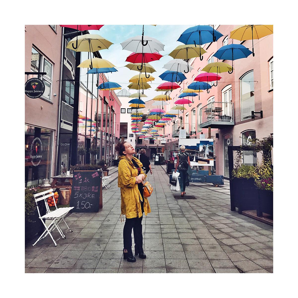 umbrella street Vejle