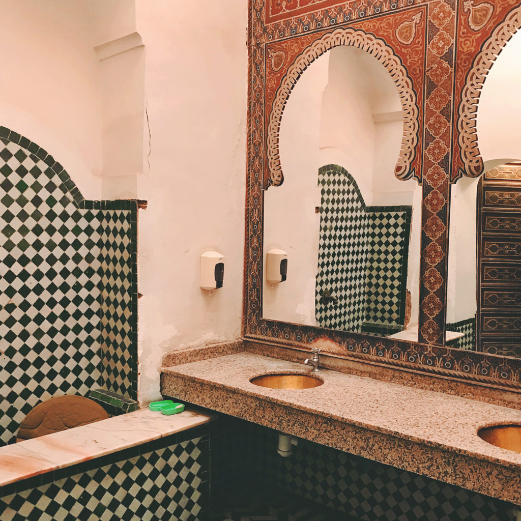 Pałac Dar Munabbi, marokańska mozaika